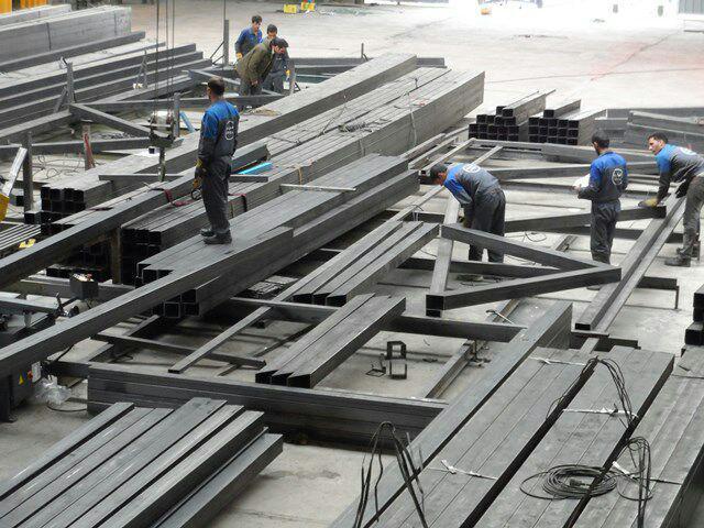کارخانه ساخت سوله